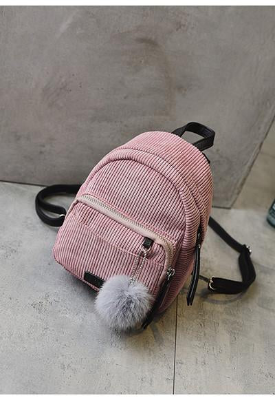 The Corduroy Back Pack