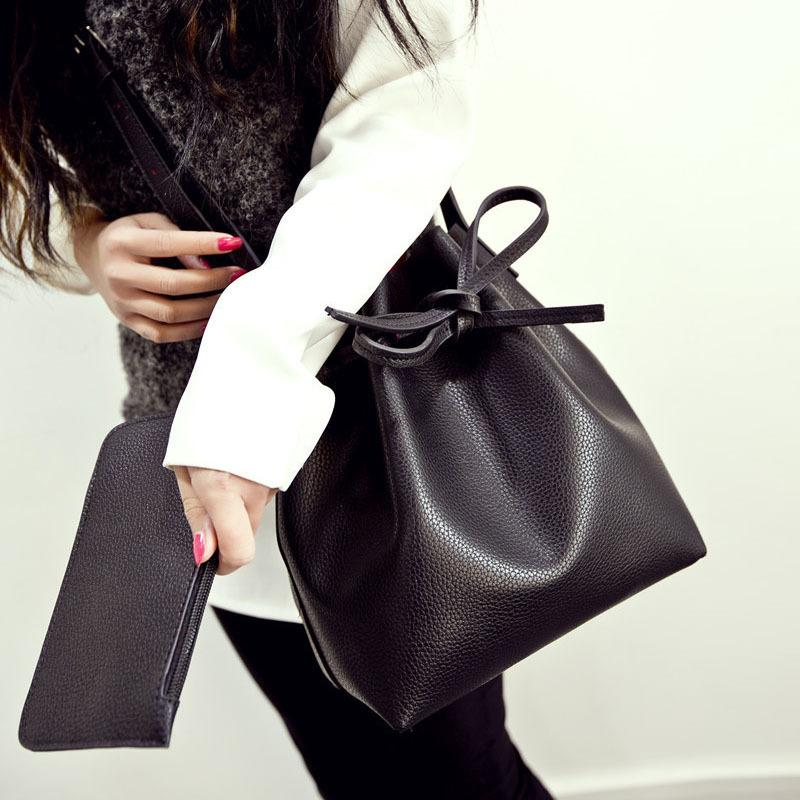 Leather One Shoulder Handbags