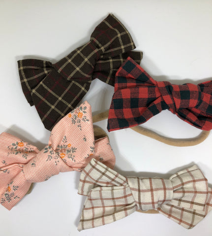 fall bow set
