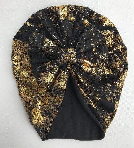 gold fleck beehive bow