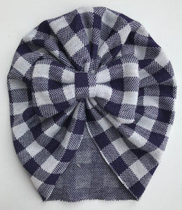 navy blue buffalo check