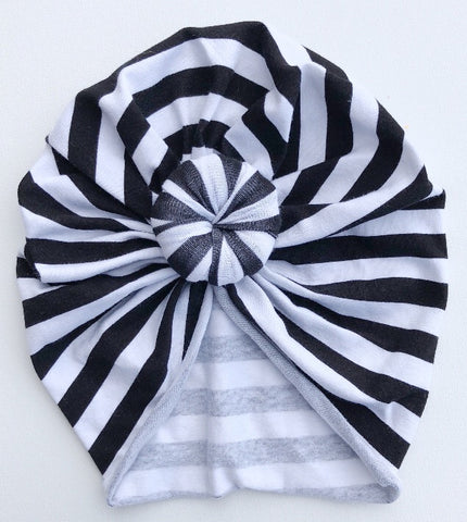 black & white striped
