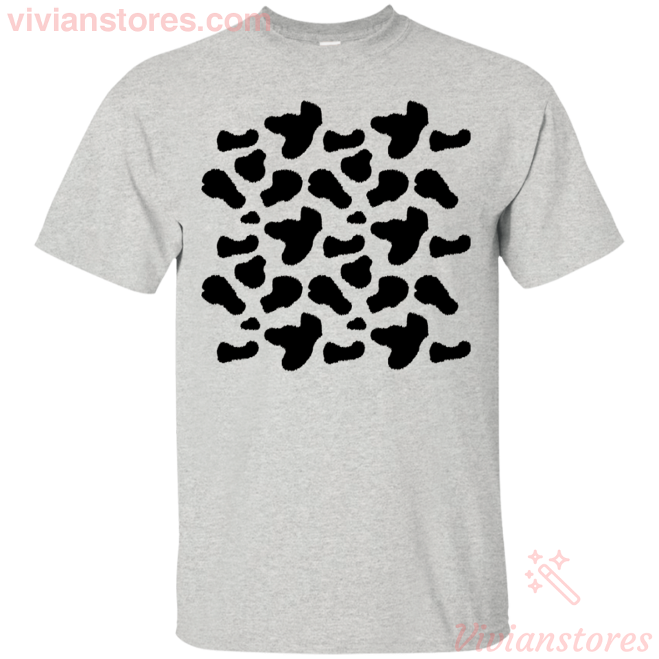 Cow Milk Halloween Costume T-Shirt Funny Party Idea-Vivianstores