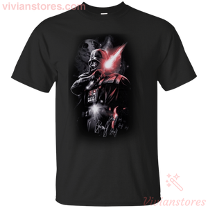 Darth Vader Lightsaber Dark Lord T-Shirt Star Wars Movie Epic For Fan-Vivianstores