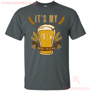It's My 35 Beer-thday Birthday T-shirt For Beer Lover - Vivianstores.com