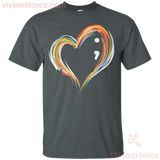 Love 7 Color T-Shirt-Vivianstores