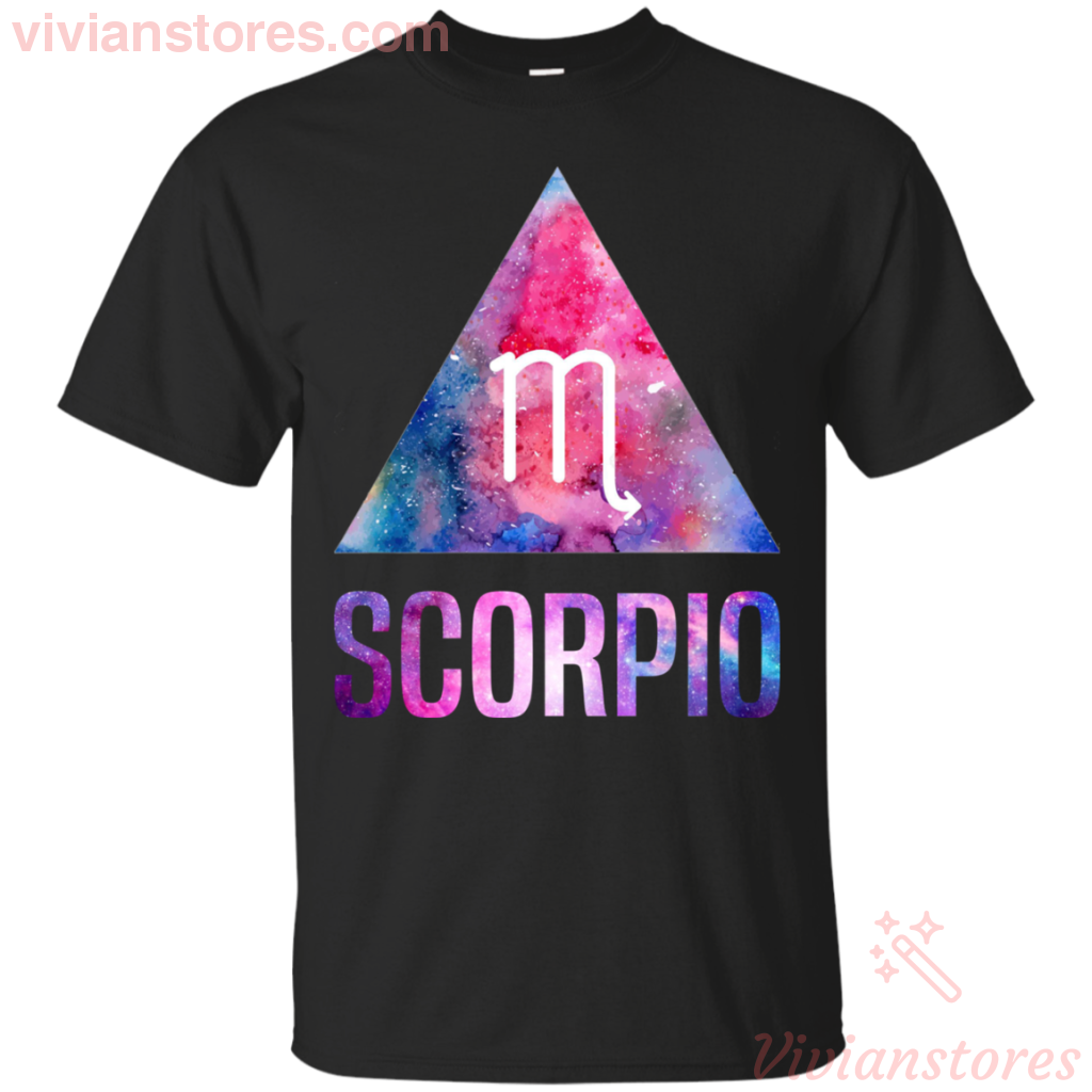 Scorpio Symbol Zodiac Birthday Men Women T-Shirt-Vivianstores
