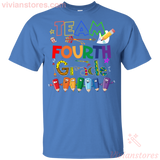 Team Fourth Grade Back To School T-Shirt - Vivianstores.com
