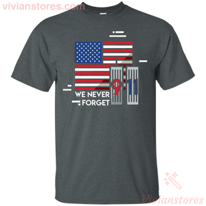 We Never Forget 9|11 America T-Shirt-Vivianstores