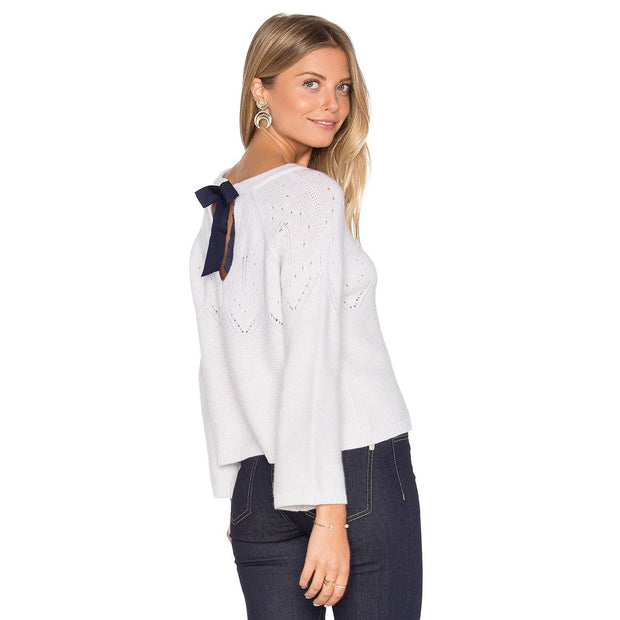 Autumn Cashmere - Autumn Cashmere Crop Sweater - Women - R10163