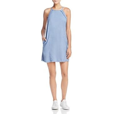 BELLA DAHL - Frayed Chambray Dress - Dress - B6056