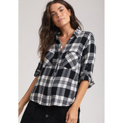 BELLA DAHL - Highland Peak Split Back Button Down - Top - B2631-A06-304-1