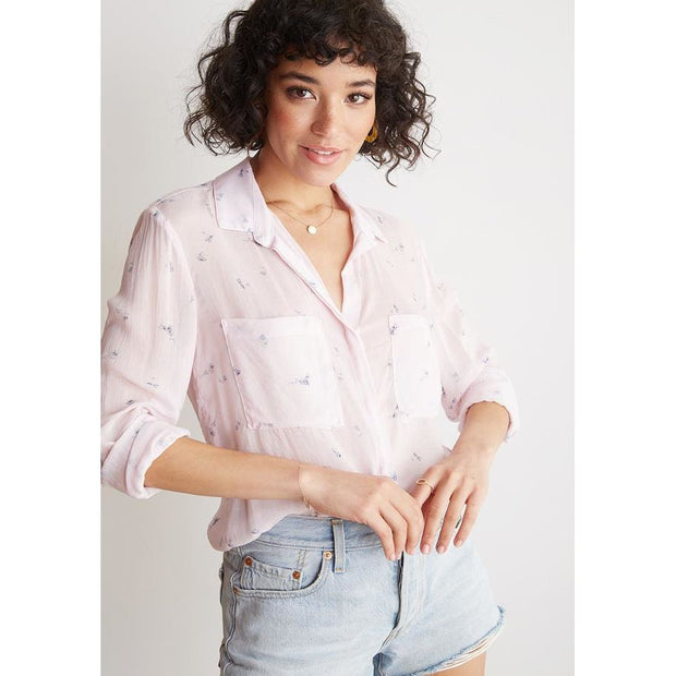 BELLA DAHL - Hipster Shirt Pink - Top - B2893-574