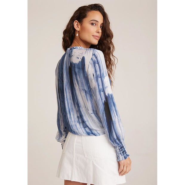 BELLA DAHL - Smoke Tie Front Shirt - Top - W4312-B23-304-1