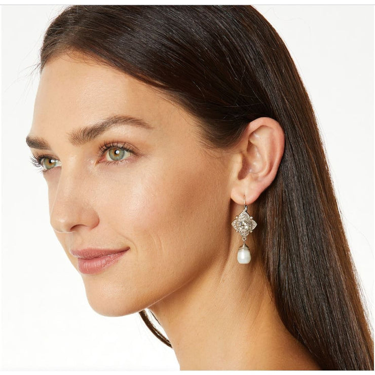 BRIGHTON JEWELRY - Mumtaz Pearl Leverback Earrings - Accessories