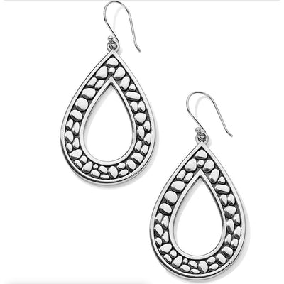 BRIGHTON JEWELRY - Pebble Open Teardrop Reversible Earrings - Accessories