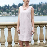 CROWN LINEN - Trina Sheath Dress - TWO COLORS - Dress