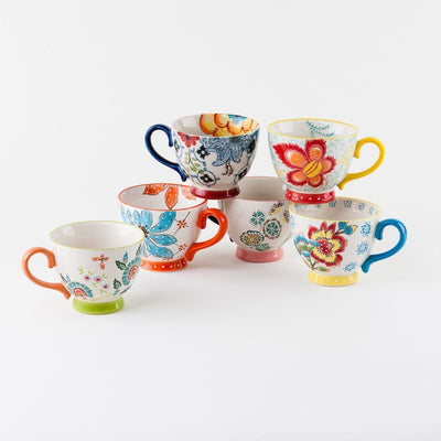 Divalani Style - Flower Mugs - Home + Bath