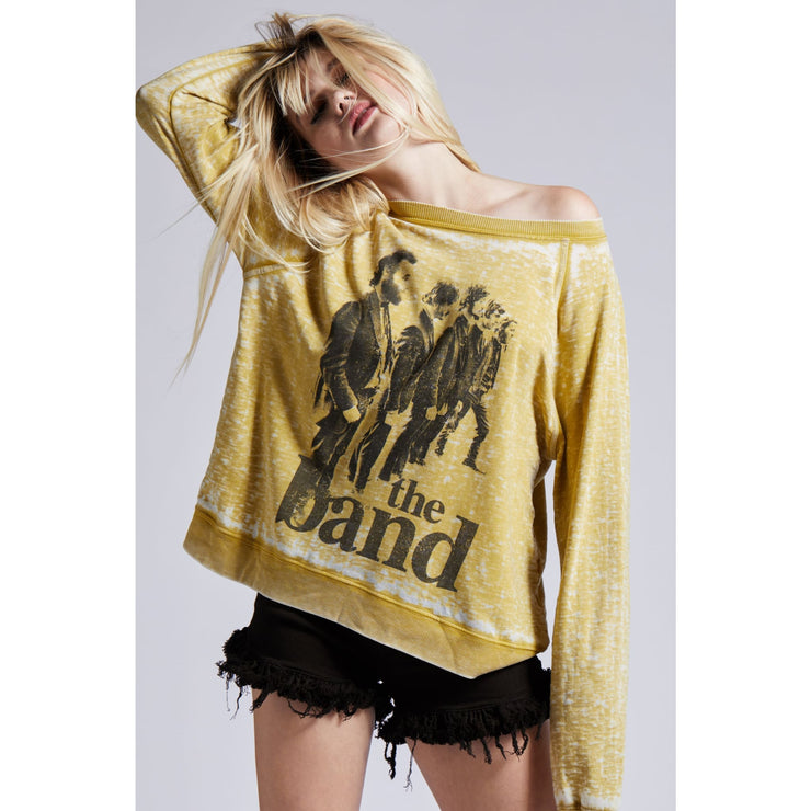 Divalani Style - The Band LS Burnout Sweatshirt - Top - 301248