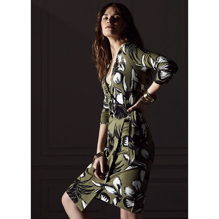 Escorpion - Escorpion Olive Wrap Dress - Women