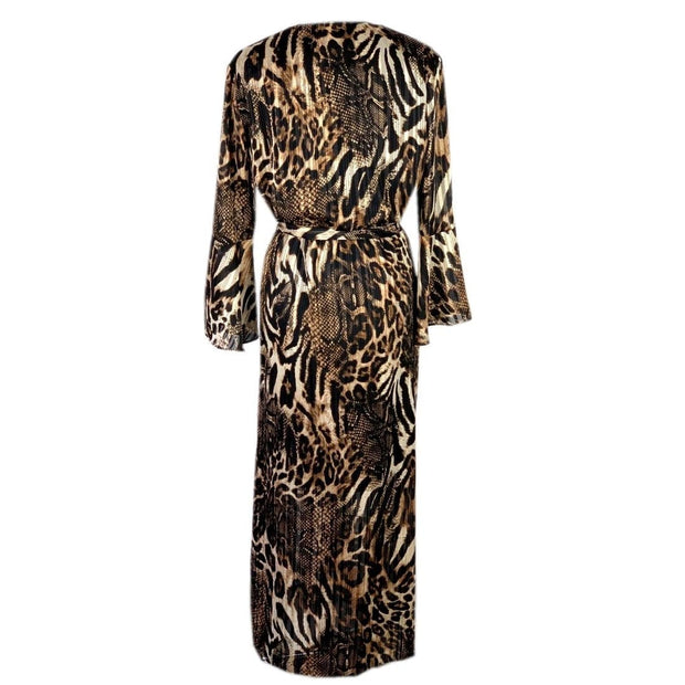Frank Lyman - 193813 Frank Lyman Animal Print Dress - Dress