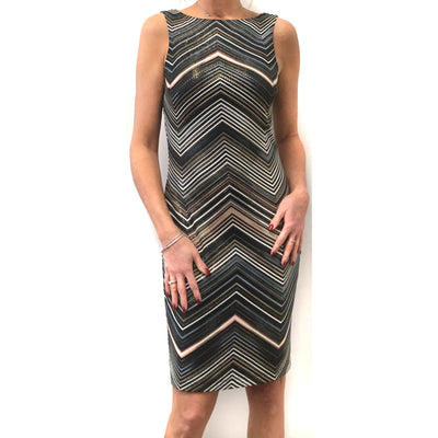 Frank Lyman - 203617 Frank Lyman Space Dye Knit Dress - Dress