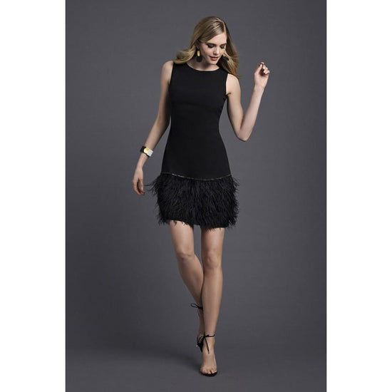 Frank Lyman - Black Fringe Dress - Dress