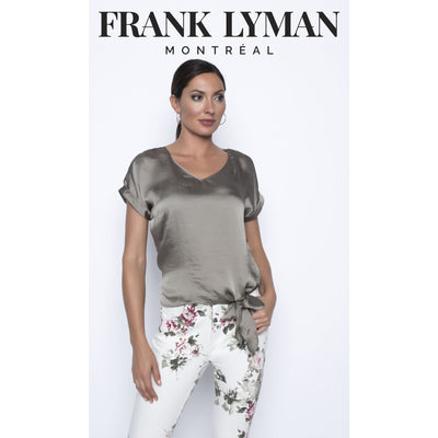 Frank Lyman - Olive Sleeveless Top - Top - 196636-1