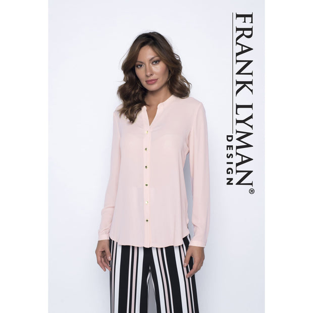 Frank Lyman - Pink Button Down Blouse - Top - 191226-1