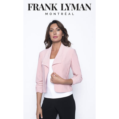 Frank Lyman - Red Cropped Jacket - Jacket - 190015-1