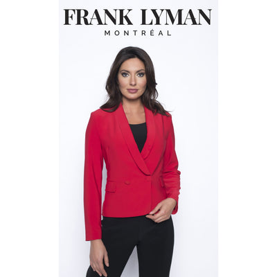 Frank Lyman - Red Knit Jacket - Jacket - 193046-1