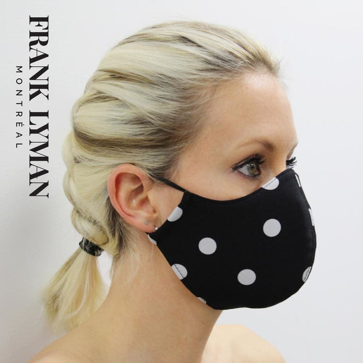 Frank Lyman - Unisex Adult Mask Black/White - Accessories