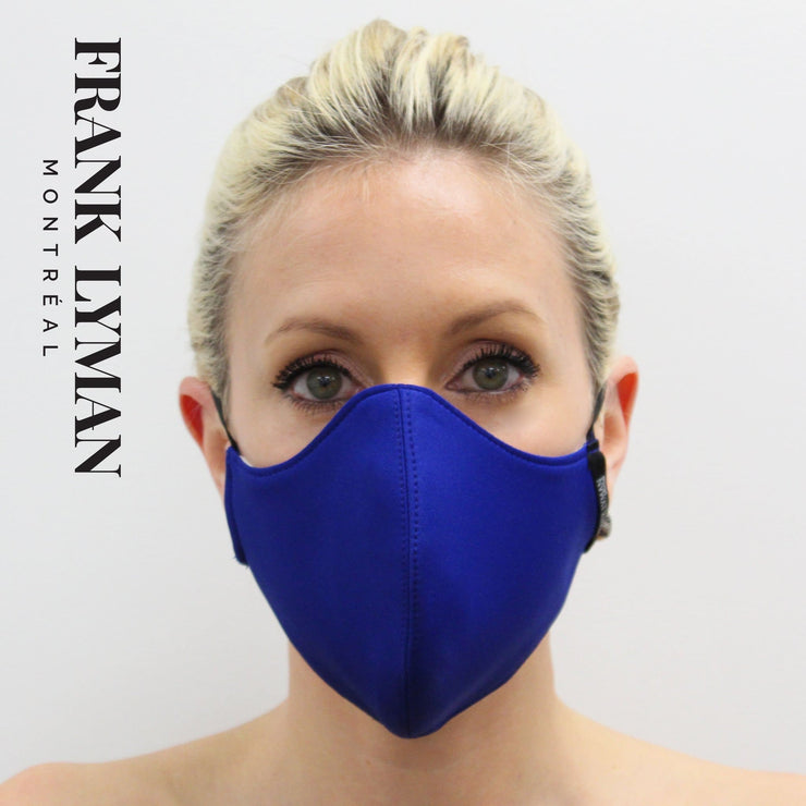 Frank Lyman - Unisex Adult Masks in cobalt Solid Color - Accessories
