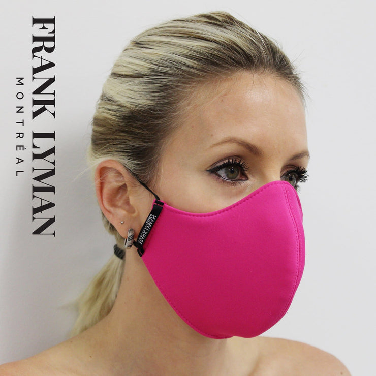 Frank Lyman - Unisex Adult Masks in Fuchsia Solid Color - Accessories
