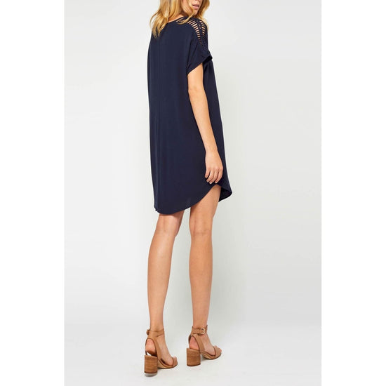 Gentle Fawn - Gentle Fawn Navy Hera Bandana Dress - Dress - GF180-8289