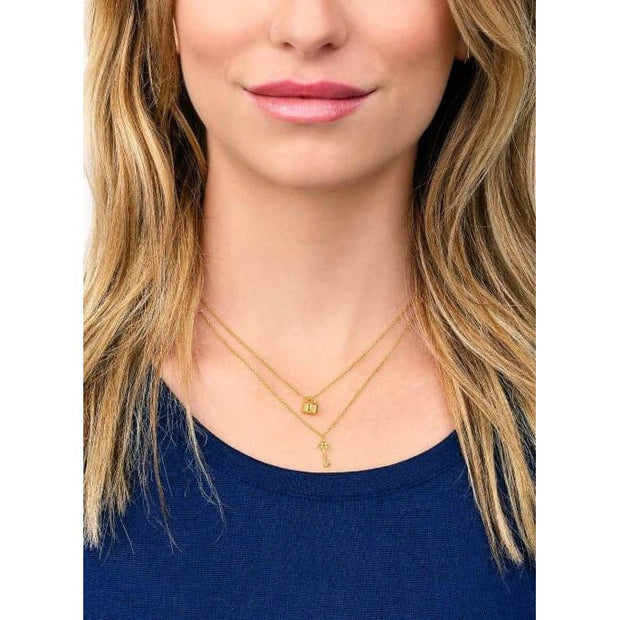 Gorjana - You + Me Lock and Key Necklace Set - Women - 173-105-G