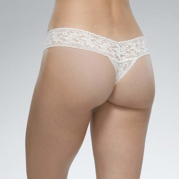 Hanky Panky - Signature Lace Original Rise Thong Rose - Women