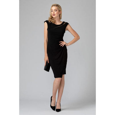 Joseph Ribkoff - 193016 Black Cocktail Dress by Joseph Ribkoff - Dress