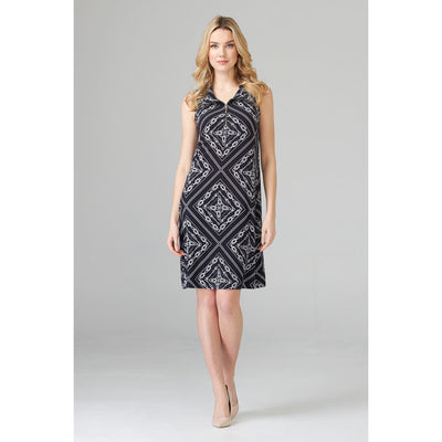 Joseph Ribkoff - 201114 Nautical Inspired Slvls Dress - Dresses - 201114