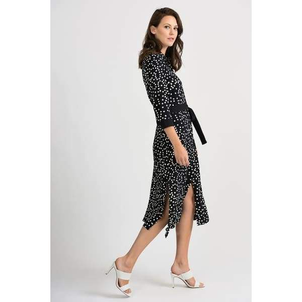 Joseph Ribkoff - Joseph Ribkoff Polka Dot Dress - Dresses