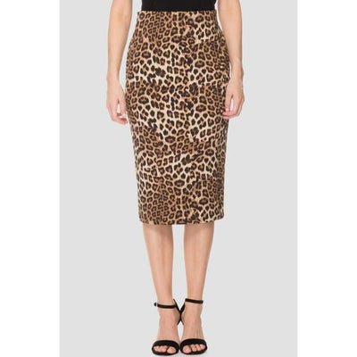 Joseph Ribkoff - Animal Print Mid Length Skirt - Skirts - 193553