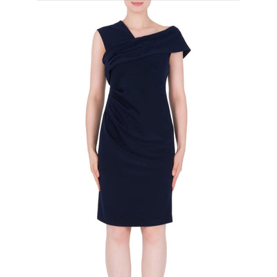 Joseph Ribkoff - Midnight Blue Dress - Dress - 184008