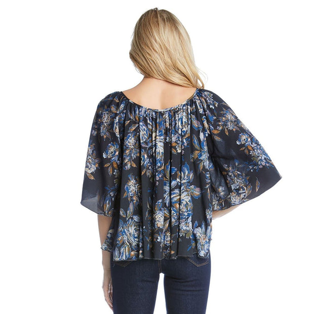 Karen Kane - Angel Sleeve Top - Top - 1L50566