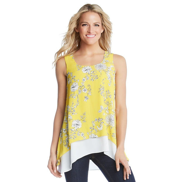 Karen Kane - Double Layer Tank - Top - 1L25440