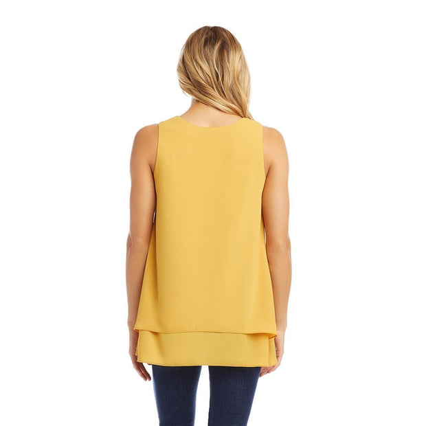 Karen Kane - Double Layer Tank - Top - 1L25479