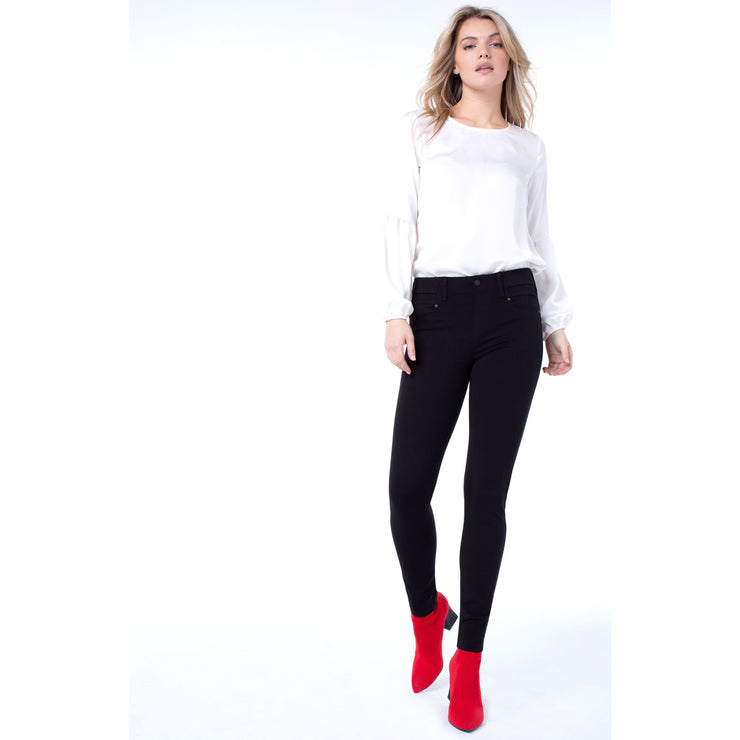 LIVERPOOL Jeans - Black Gia Glider Skinny - Pants - LM2349M42 -1