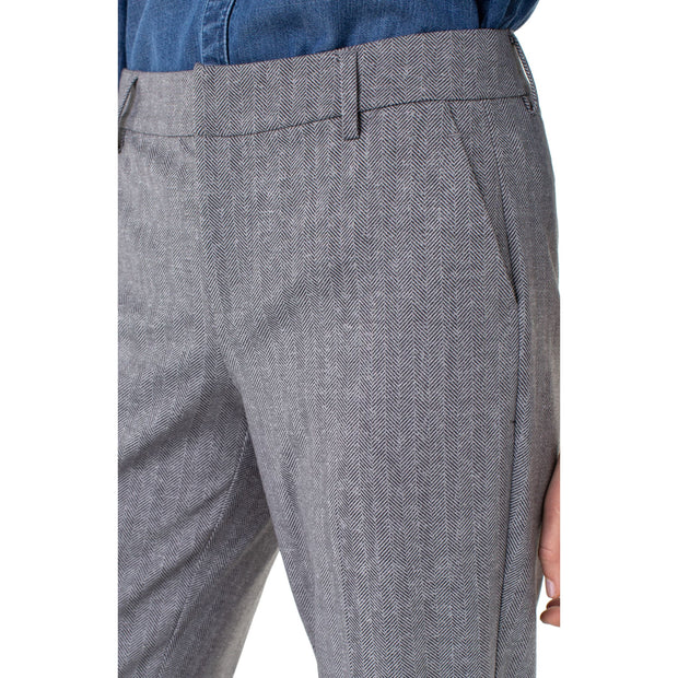 LIVERPOOL Jeans - Grey Kelsey Trouser - Pants - LM5084Z47-1