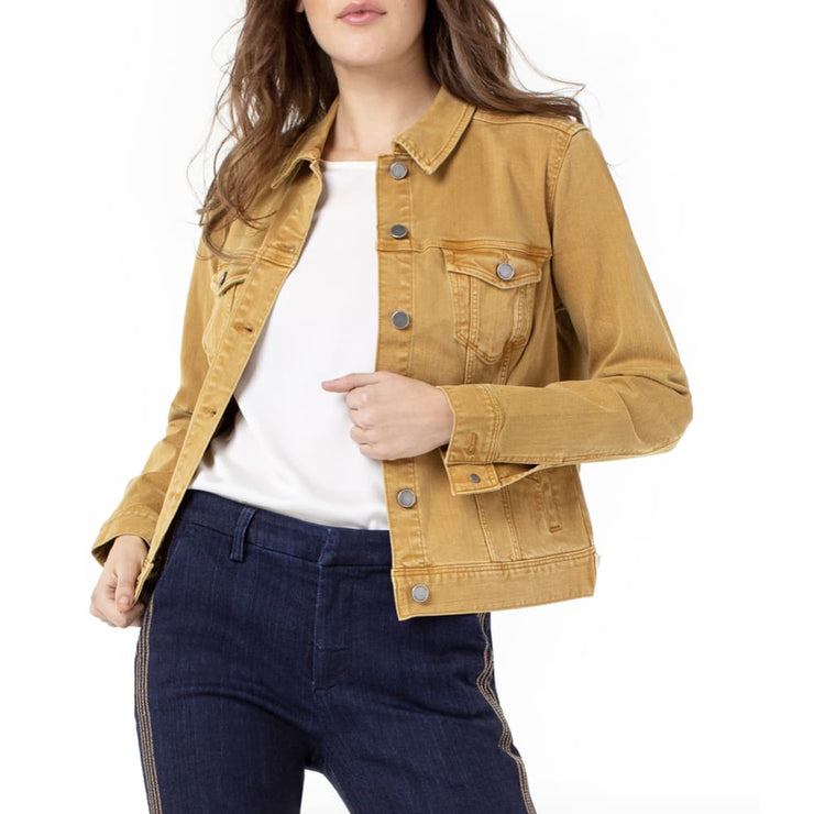 LIVERPOOL Jeans - Honey Jean Jacket - Jacket - LM1004WF-1