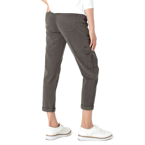 LIVERPOOL - LM7228ME Liverpool Cargo Crop with Cuff - Pants