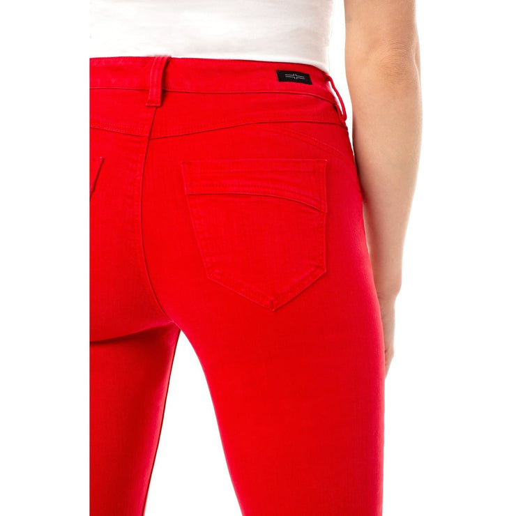 LIVERPOOL - Piper Hugger Ankle Skinny - Pants